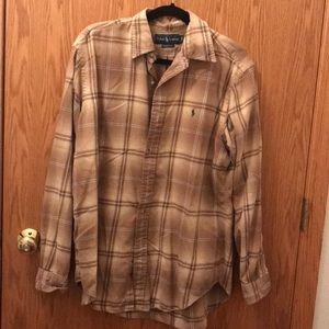 Ralph Lauren Men's Plaid Shirt